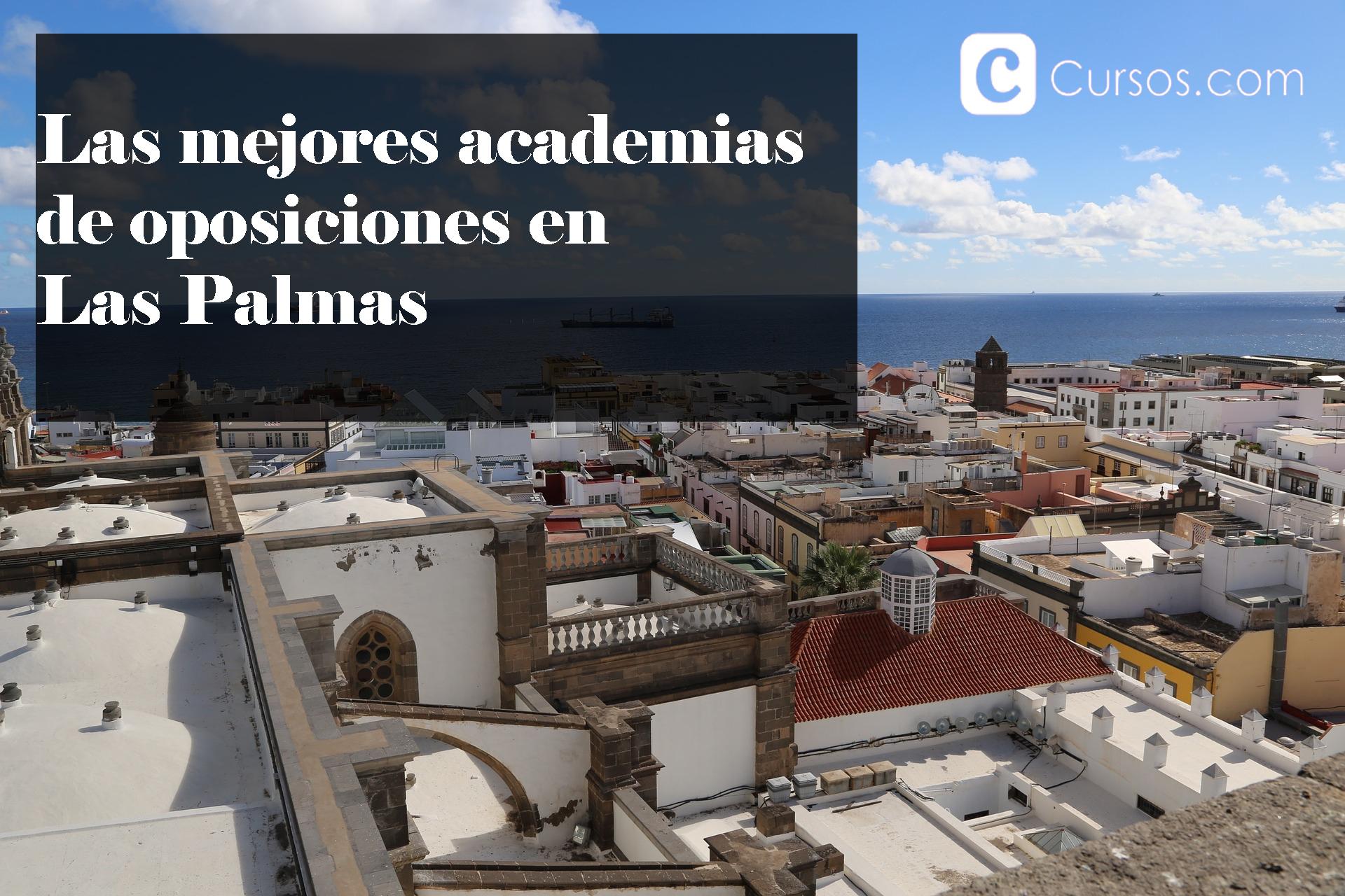 Mejores academias de oposiciones en Las Palmas