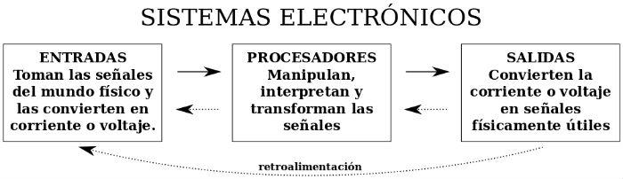 entradas, procesadores y salidas