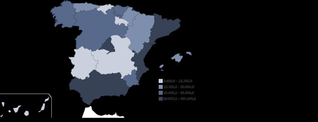 mapa biotecnologia por comunidades autonomas