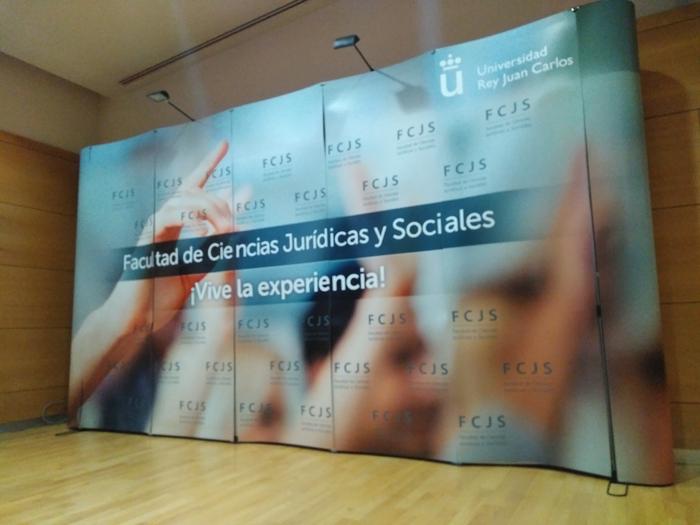 Photocall de la Facultad de Ciencias Jurídicas y Socialesde Vicálvaro