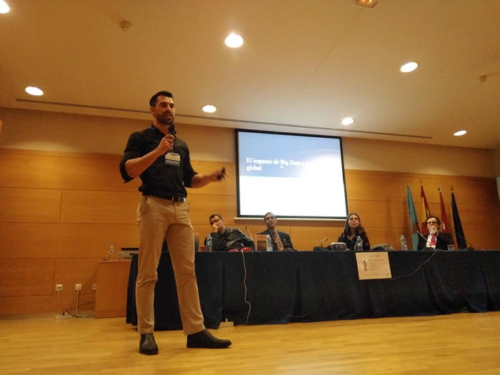 El Inspector Miguel Camacho, pionero en combinar Big Data y seguridad policial para crear herramientas de un nuevo paradigma policial.