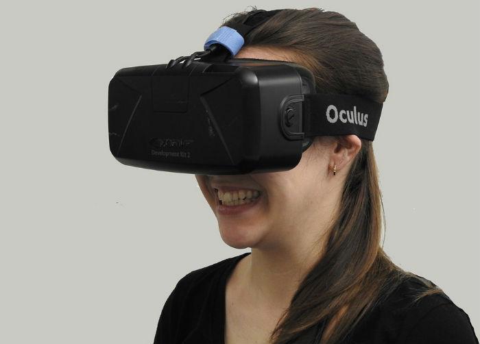 Gafas de realidad virtual Oculus