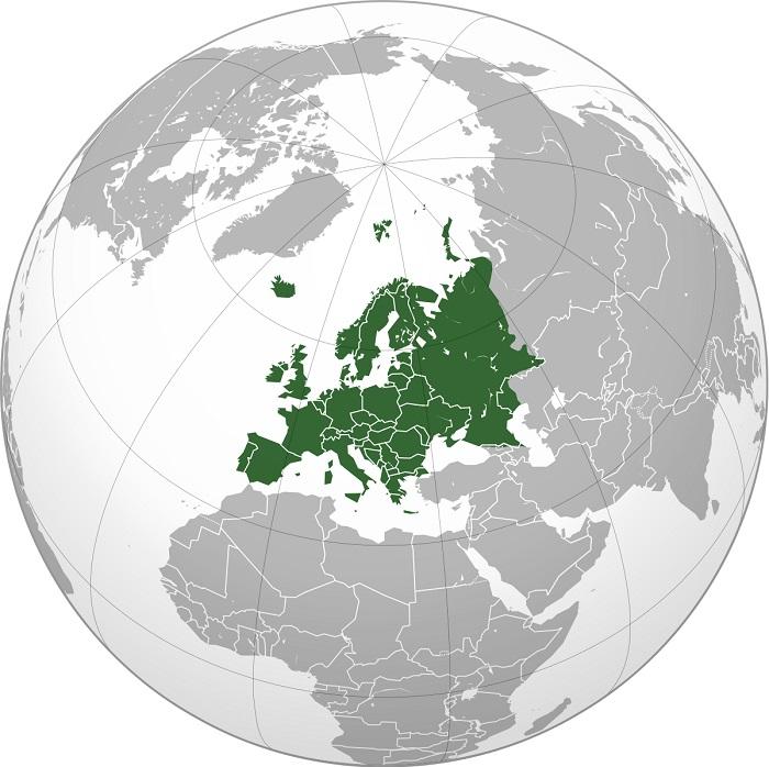 Países de Europa y de la Unión Europea