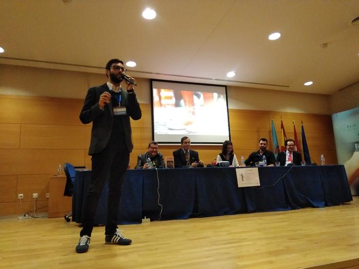 José Ramón Saura especialista en marketing digital durante su charla en la URJC sobre Datos Personales, Privacidad e Identidad Digital.