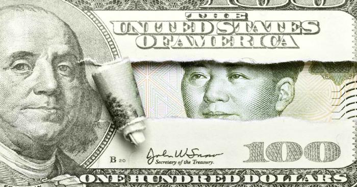 Relación yuan y dólar según el Índice Big Mac.