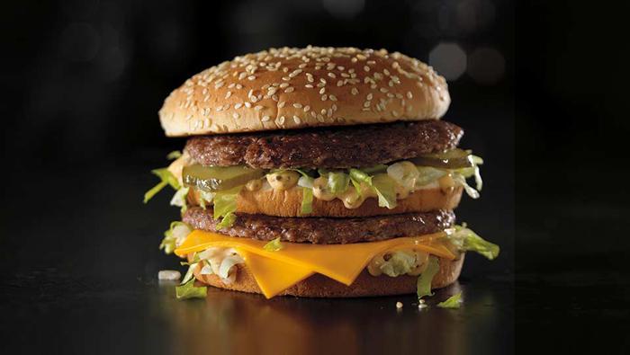 Hamburguesa Big Mac.