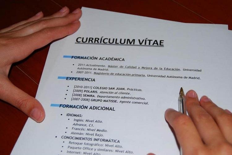 Como Hacer Un Curriculum Vitae Cv Cursos Com