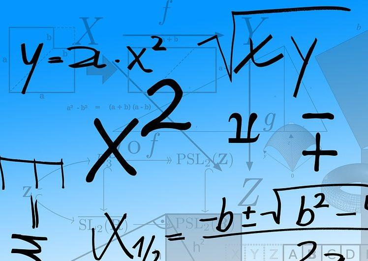 Formulas matemáticas.