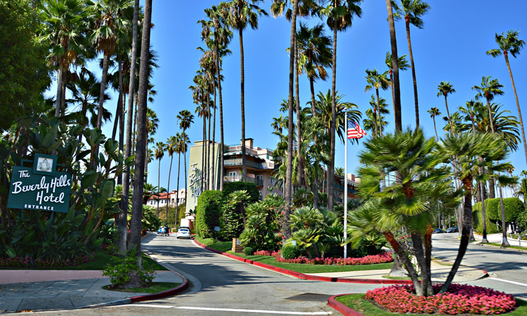 Entrada al Hotel Beverly Hills