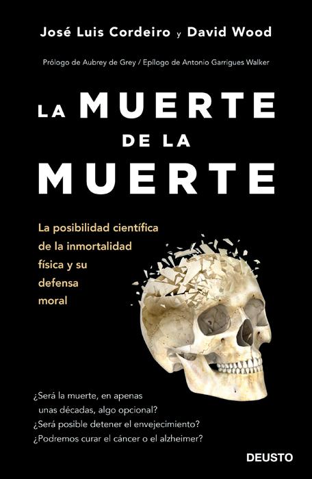 Portada del último libro de José Luis Cordeiro