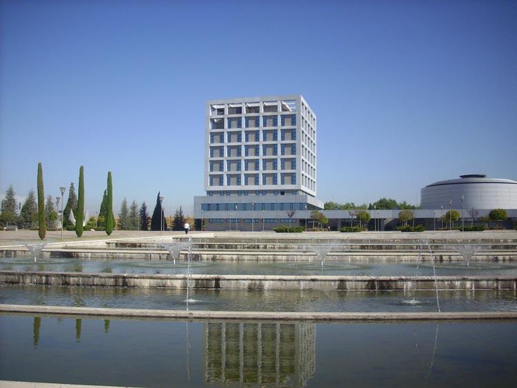 El Rectorado de la Universidad Rey Juan Carlos está en el campus de Möstoles