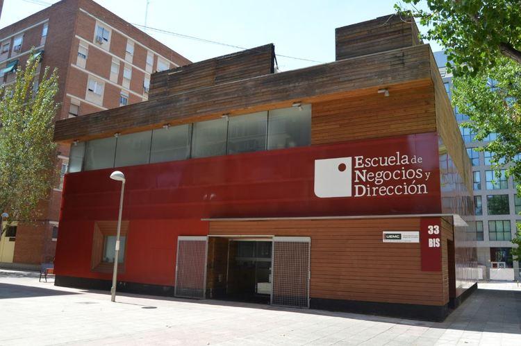 Sede principal de la Escuela de Negocios y Dirección ENyD