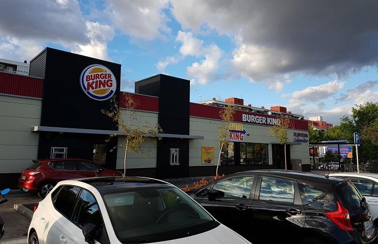 Hamburguesería Burger King