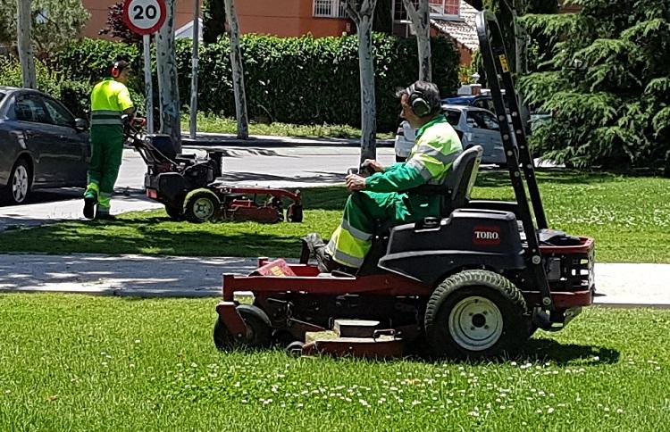 FCC ofrece puestos de trabajo como jardineros