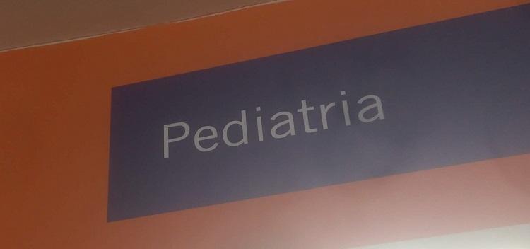 Sala de espera en Pediatría