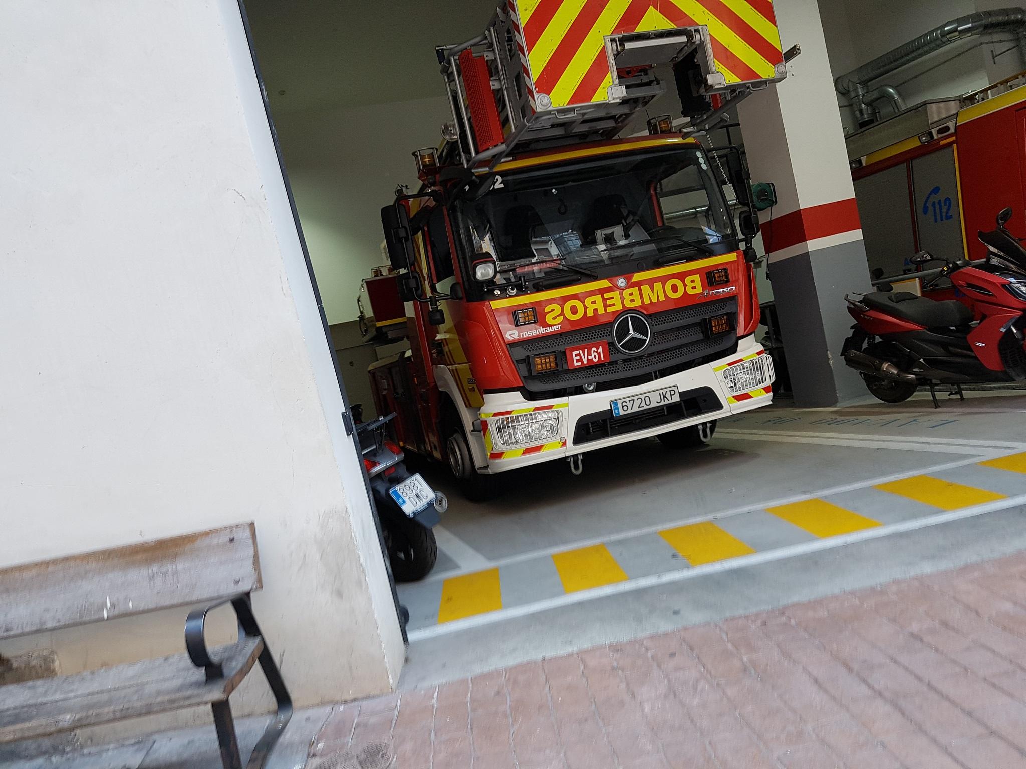oposiciones a bomberos en Las Palmas