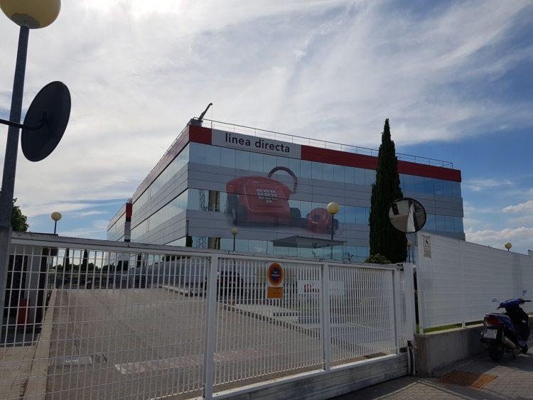 Oficinas centrales de Línea Directa en Tres Cantos (Madrid)
