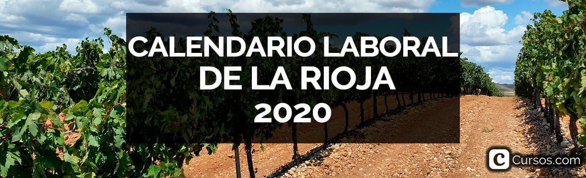 Calendario laboral de la Rioja en 2020