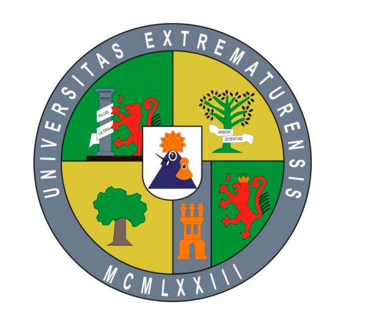 Escudo de la Universidad de Extremadura