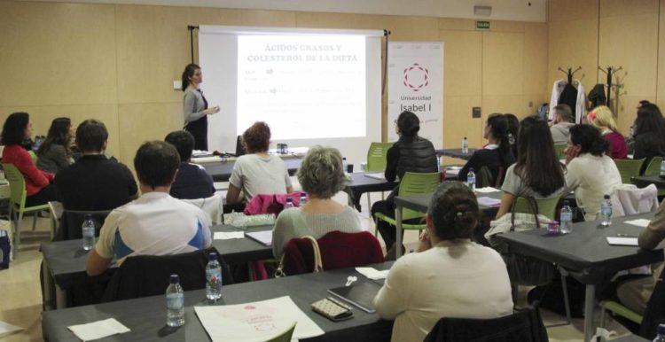 Clase en la Universidad Internacional Isabel I de Castilla
