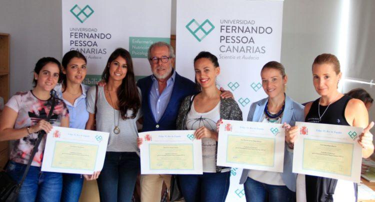Graduadas por la Universidad Fernando Pessoa-Canarias (UFP-C)