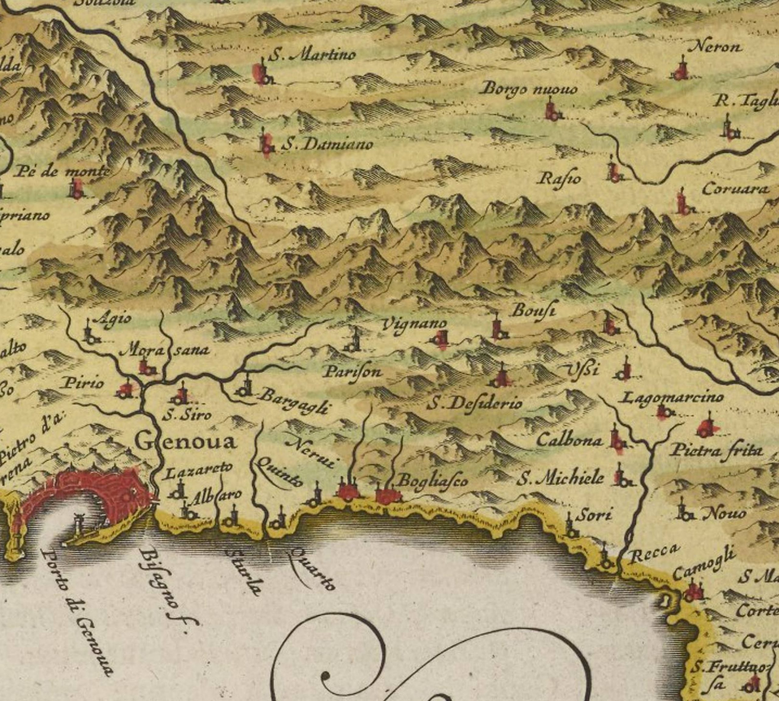 Mapa hecho por un ingeniero cartógrafo