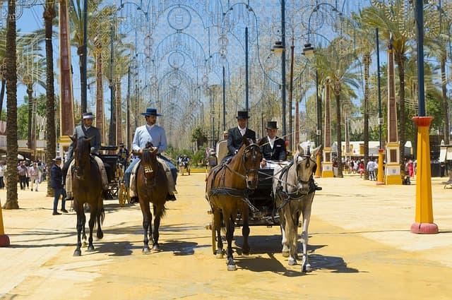 Días de fiestas en Andalucía