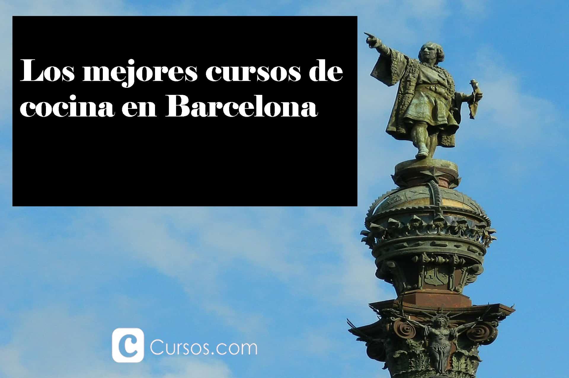 Los mejores cursos de cocina en Barcelona