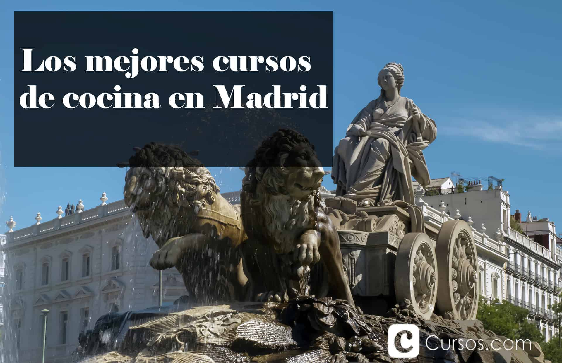 ¿Cuáles son los mejores cursos de cocina en Madrid?