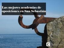 Las mejores academias de oposiciones en San Sebastián