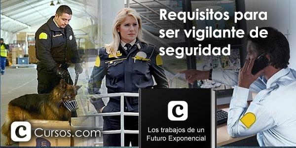 Cursos para trabajar en seguridad privada en España