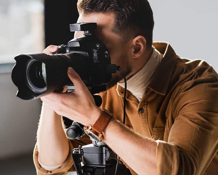 Funciones de un fotógrafo