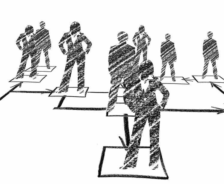 Organigrama de una empresa: estructura interna