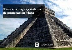 Números mayas y sistema de numeración Maya