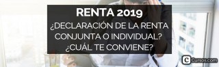 Renta 2019: ¿Declaración de la Renta conjunta o individual? ¿Cuál te conviene?